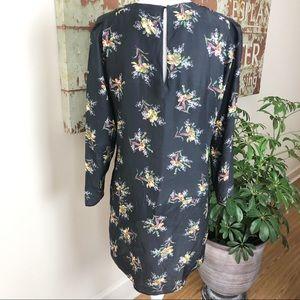 Zara Dresses - Zara floral silk dress